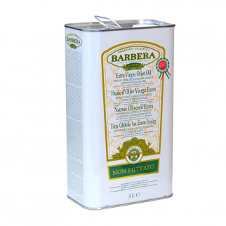 Natives Olivenöl Extra Barbera Ungefiltert 3 lt