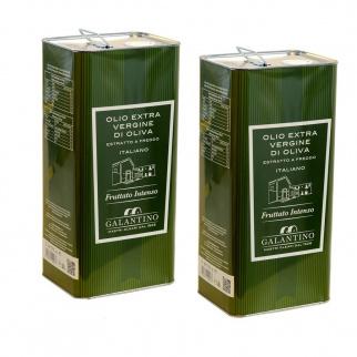 Extra Virgin Olive Oil Intense Fruity 5 lt x 2