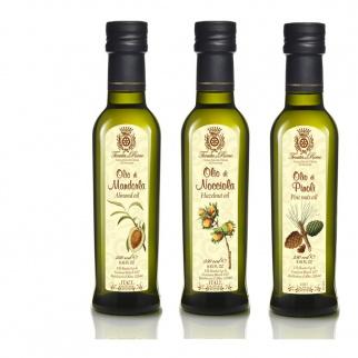 Tris Special Oils: Almond, Pine nuts, Hazelnut 250 ml x 3