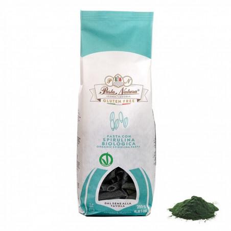 Glutenfreie Penne mit Spirulina Algen 250 gr
