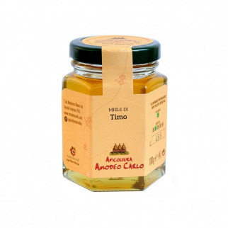 Thyme Honey Sicilian Black Bee 100 gr