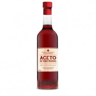 Vatgerijpte Rode Wijnazijn van Lambrusco Druiven 500 ml
