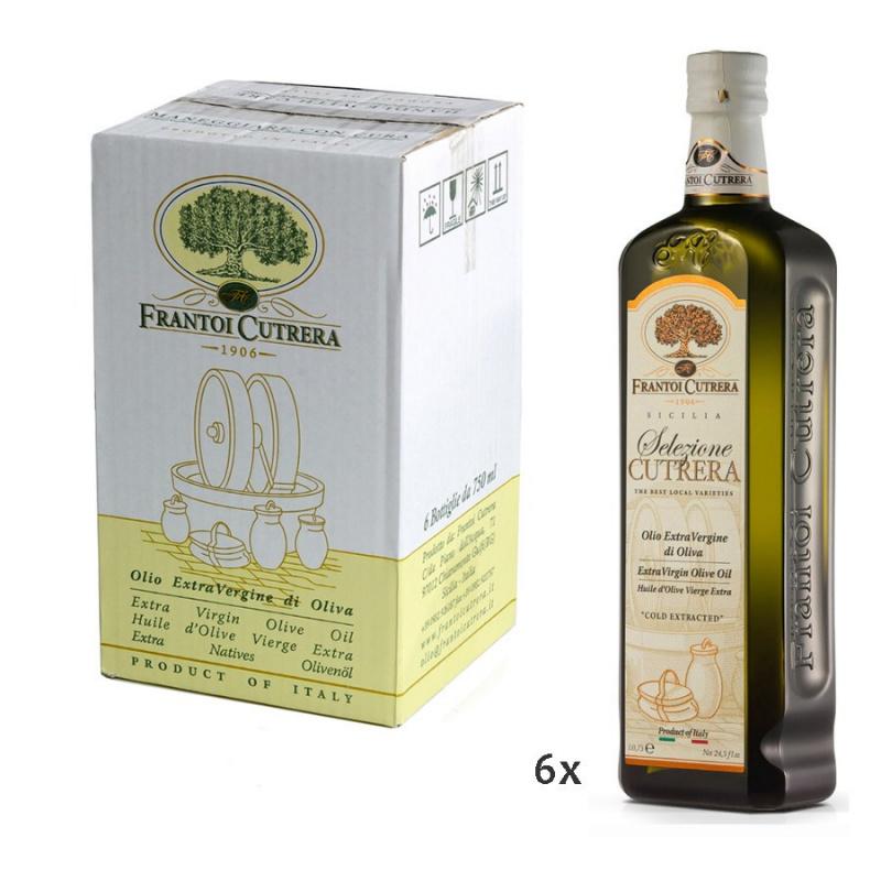 Olio Extra Vergine di Oliva Selezione Cutrera IGP Sicilia 750 ml x 6
