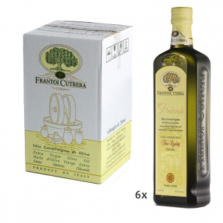 Huile d'Olive Extra Vierge Primo Fine Quality Cutrera 750 ml x 6
