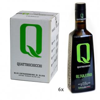 Huile d'Olive Extra Vierge Olivastro 500 ml x 6