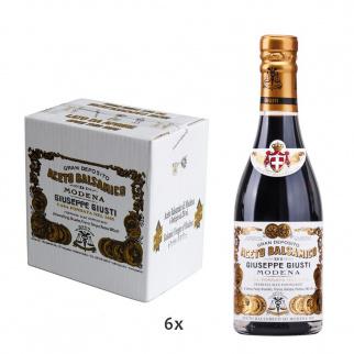 """Balsamic Vinegar of Modena PGI 2 Gold Medals """"Il Classico"""" 250 ml x 6"""