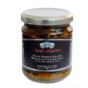 Olives Leccino Monovariétales Dénoyautées à l'huile Extra Vierge d'olive 180 gr