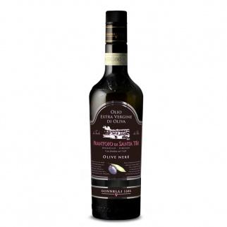 Frantoio  Santa Tea Extra Vergine Olijfolie van Zwarte Olijven 500 ml