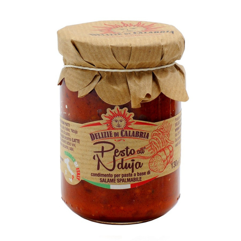 Pesto alla 'Nduja 130 gr