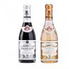 Giusti Vinegar Duo: Balsamic Vinegar of Modena PGI 1 Silver Medal and White Vinegar Dressing 250 ml x 2