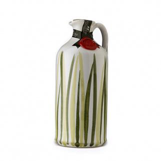 Handgemachter Keramikkrug Prato mit nativem Olivenöl Extra 500 ml