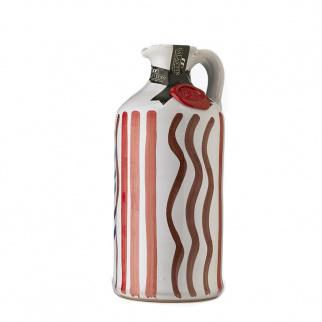 Handmade Ceramic Jar with Affiorato Extra Virgin Olive Oil 500 ml