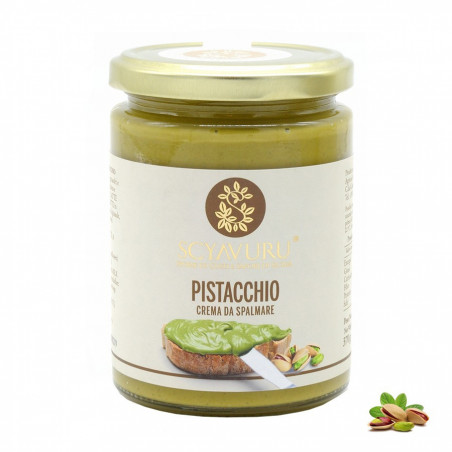 Crema da spalmare al Pistacchio 370 gr