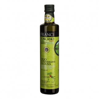 Huile d'olive Extra Vierge Franci Toscane IGP 500 ml