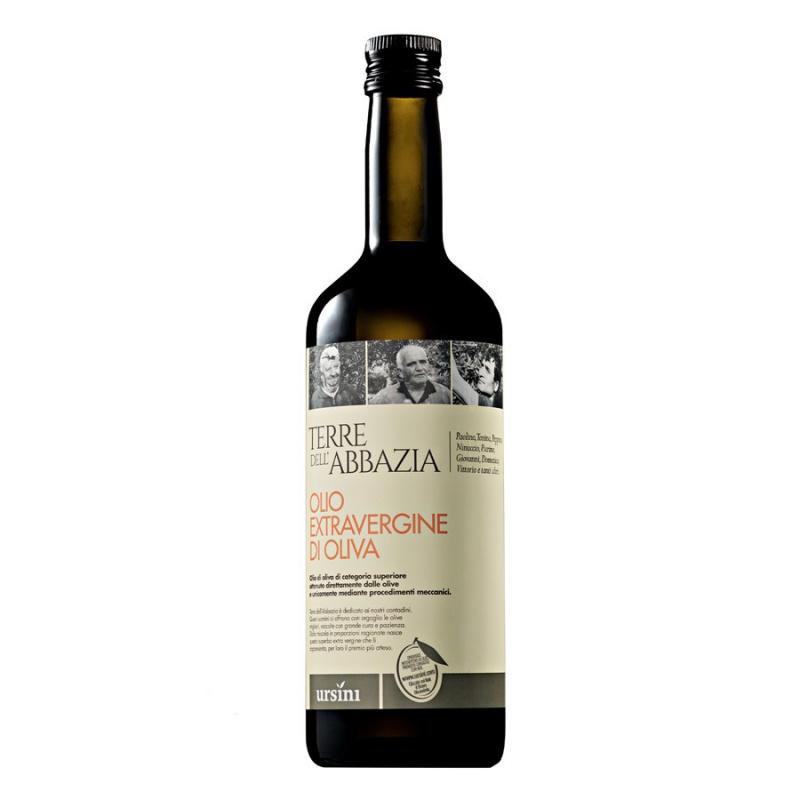 Olio Extra Vergine di Oliva Terre dell'Abbazia 750 ml