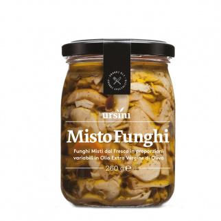 Gemischte Pilze in Nativem Olivenöl Extra 260 gr