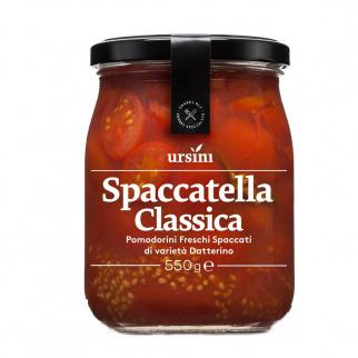 Spaccatella Classique de tomates cerises Datterino coupées en deux 550 gr