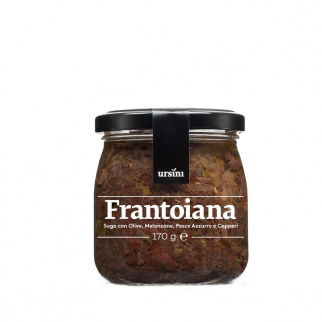 Frantoiana sauce prête pour pâtes 170 gr