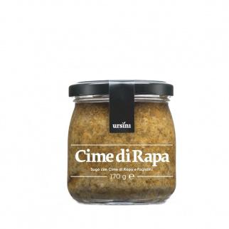 Sauce prête pour pâtes à base de Fanes de Navet 170 gr