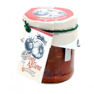 Sauce Aglione avec Tomate et Ail 180 gr