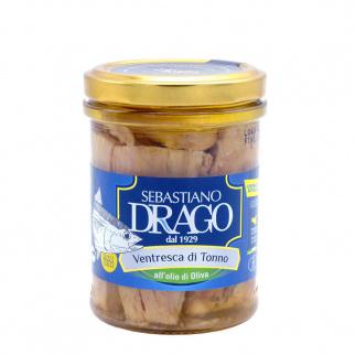 Filets de Ventrèche de Thon à l'Huile d'Olive 200 gr