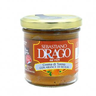 Pâté de thon et Oranges de Sicile 130 gr