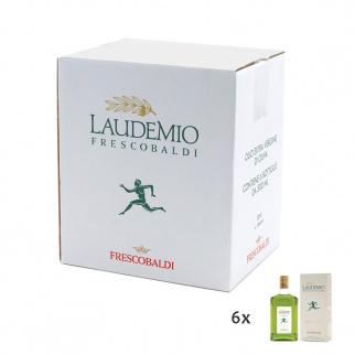 Doos Laudemio Frescobaldi Extra Vergine Olijfolie 500 ml x 6
