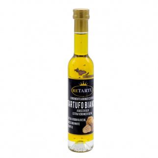 Condiment aromatisé à la Truffe Blanche à base d'Huile d'Olive Extra Vierge 100 ml