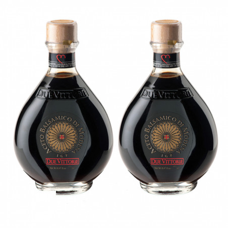Bis Vinaigre Balsamique de Modena IGP Due Vittorie Oro 500 ml x 2