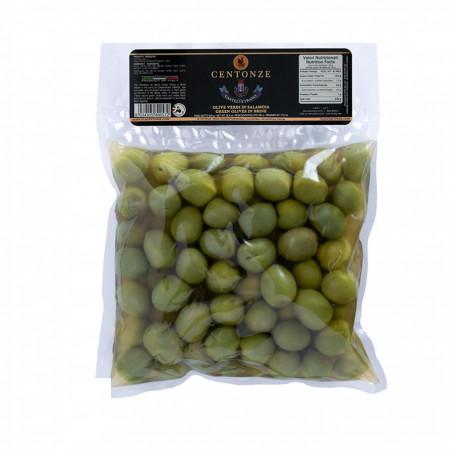 Centonze Grüne Oliven in Salzlake 820 gr