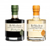 Duo ReModena Organic Balsamic Vinegar: White Dressing and Balsamic of Modena PGI 250 ml x 2