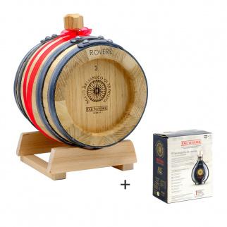 Acetaia di Famiglia Due Vittorie: Vinaigre Balsamique de Modena IGP Oro avec fût de chêne 3 lt