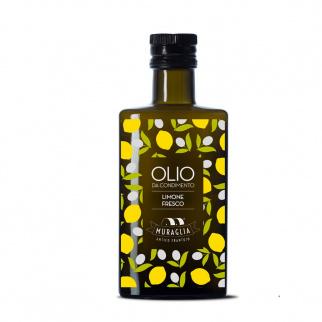 Condiment avec Huile d'Olive Extra Vierge au Citron Frais 200 ml