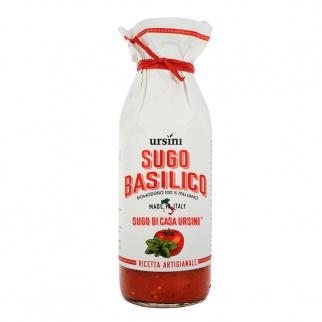 Sauce prête pour pâtes au basilic de Casa Ursini 500 gr