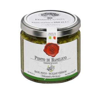 Pesto aux Basilic Version sicilienne 190 gr
