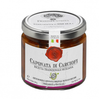 Caponata di Carciofi Ricetta Tradizionale Siciliana 190 gr