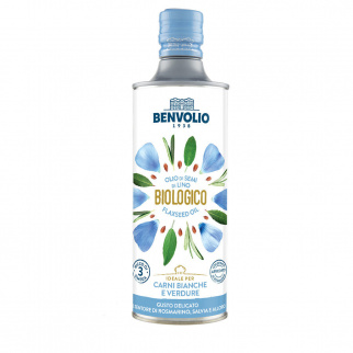 Biologisches Leinsamenöl 500 ml