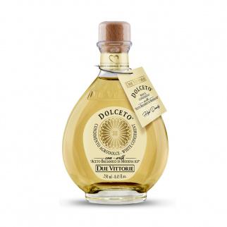 Weißes Dressing Dolceto mit Balsamico Essig aus Modena IGP Due Vittorie 250 ml