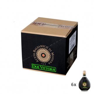Aceto Balsamico di Modena IGP Due Vittorie Oro Premium Biologico 500 ml x 6