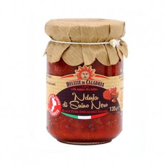 'Nduja Black Pork Spicy Spreadable Salami 135 gr