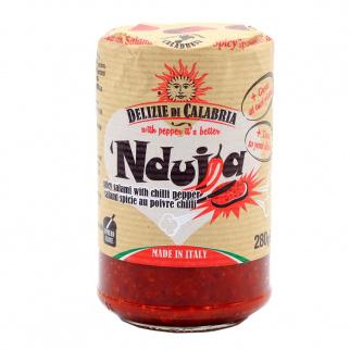 'Nduja Calabrian Spicy Spreadable Salami 280 gr