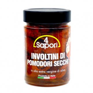 Getrocknete Tomatenröllchen in Nativem Olivenöl Extra Vergine 320 gr
