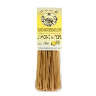 Linguine Limone e Pepe con Germe di Grano 250 gr
