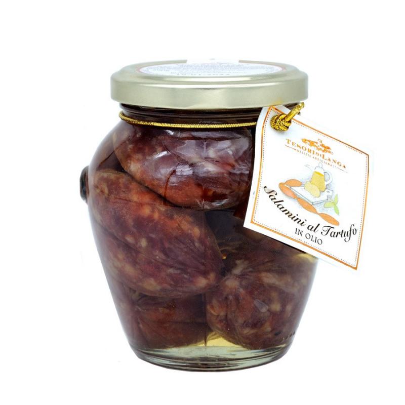 Saucisses à la Truffe Noire à l'huile 290 gr
