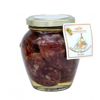 Saucisses au Vin Barolo D.O.C.G. à l'huile 290 gr