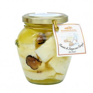 Fromages Tomini à la Truffe Noire à l'huile 280 gr
