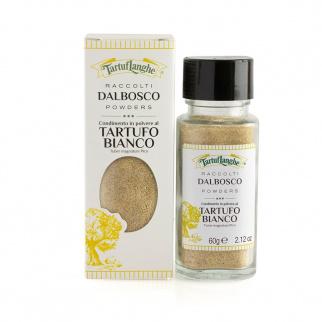 DALBOSCO Condiment à base de Truffe Blanche en poudre 60 gr