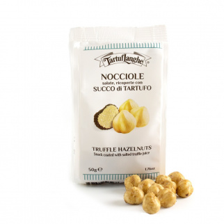 Salted hazelnuts covered with truffle juice 50 gr