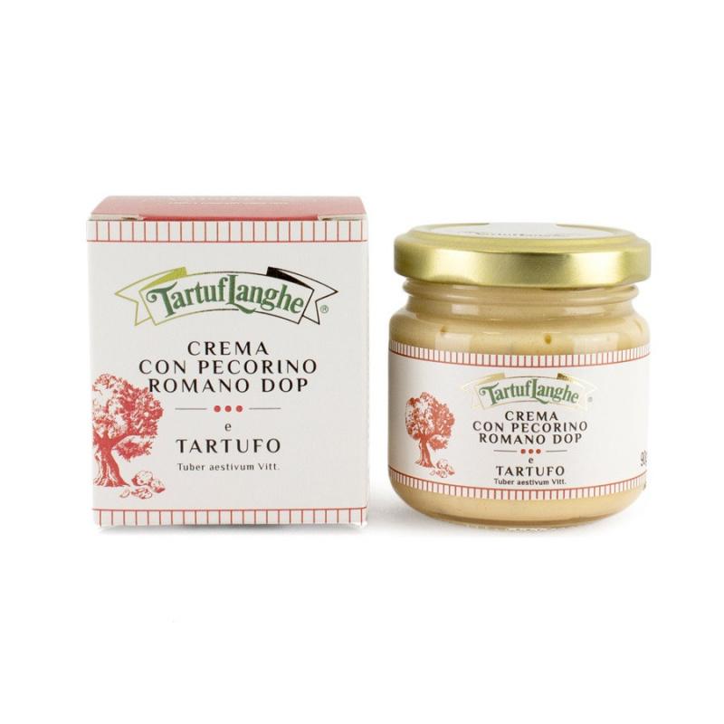 Crema con Pecorino Romano DOP e Tartufo 90 gr