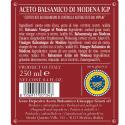 Giusti and Santa Tea Set: Balsamic Vinegar of Modena PGI 3 Gold Medals 250 ml and Extra Virgin Olive Oil Laudemio 500 ml